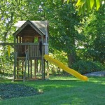 Play Structures should be given sufficient space for safe use