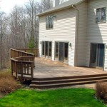 An experienced local contractor was hired to build this deck