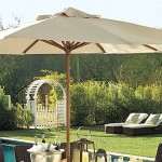 Eucalyptus pole and fabric supports have great weather resistant properties