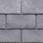 Roofing shingles that replicate the look of slate