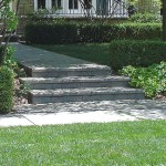 This entry step design is beautiful - we love it!