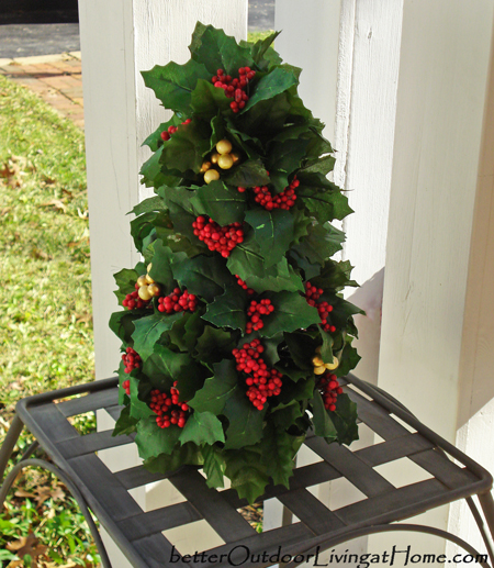 Holly & Berry Accent Tree