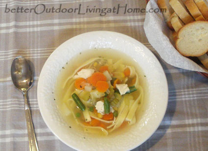 chicken-soup-recipe-serving